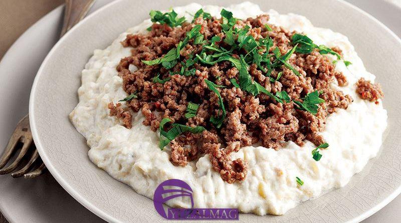 طرز تهیه آلی نازیک غذای مشهور ترکیه