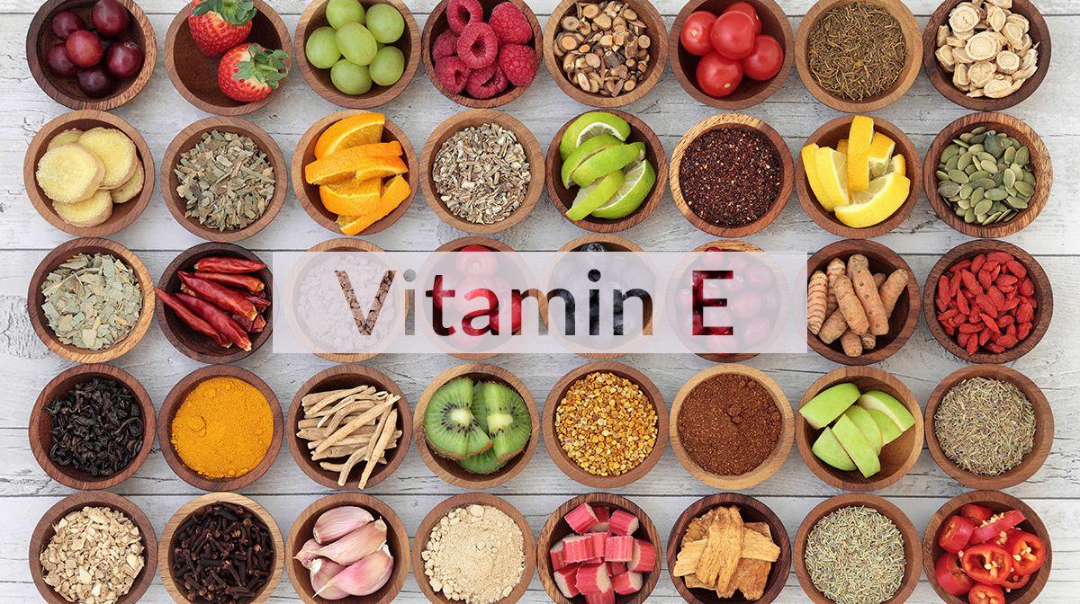 منابع حاوی ویتامین ای (E)