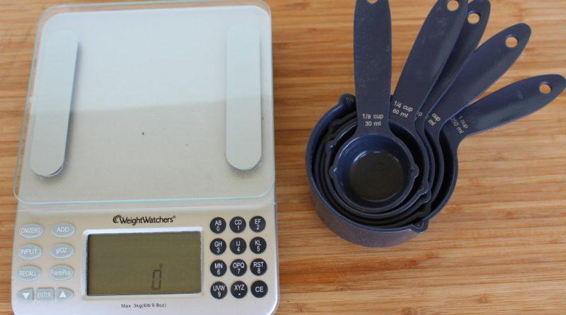 اندازه گیری لیوان یا گرم