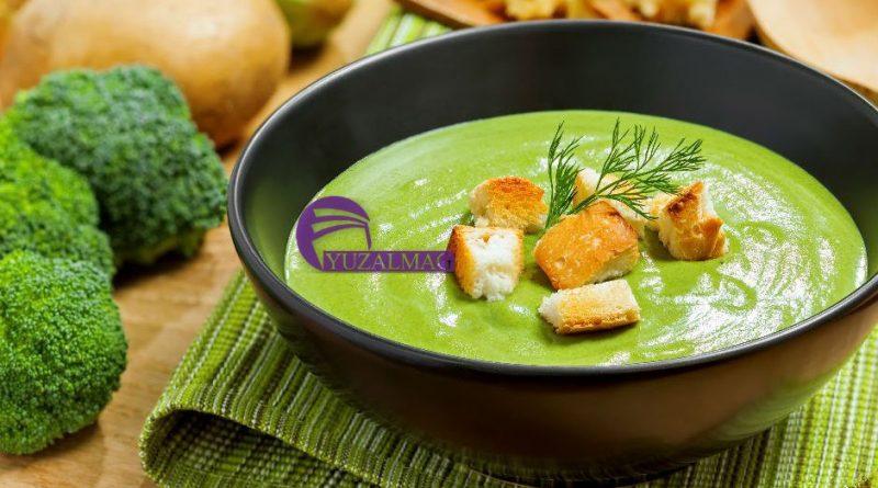 سوپ سبز برای سم زدایی بدن
