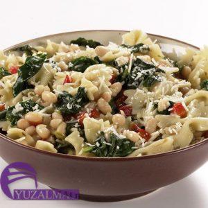 ماکارونی با سبزیجات