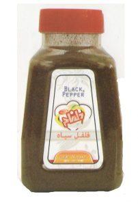 فلفل سیاه نمکدانی دلنام وزن ۸۰ گرم