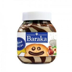 شکلات صبحانه شیری فندقی باراکا مقدار ۳۳۰ گرم