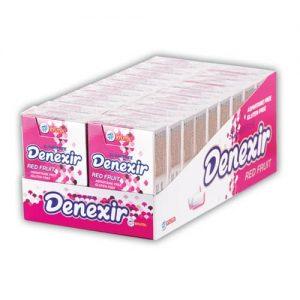 آدامس میوه ای فیلیپ تاپ دنکسیر DENEXIR - بدون آسپارتام ، بدون شکر ، بدون گلوتن