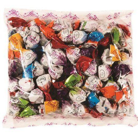 شکلات یک سر پیج مغزدار باران باراکا بسته ۱.۵ کیلویی