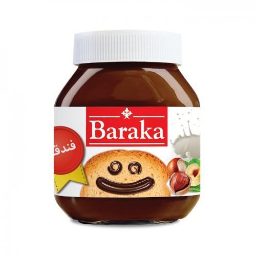 شکلات صبحانه فندقی باراکا مقدار ۳۳۰ گرم
