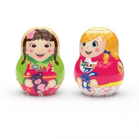 گلی لپ حاوی شکلات و اسباب بازی دخترانه