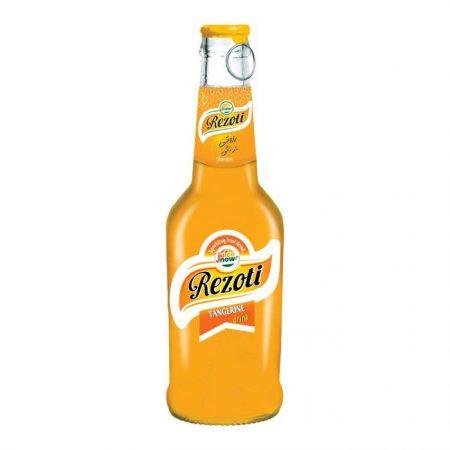 نوشیدنی گازدار شیشه نارنگی رزوتی