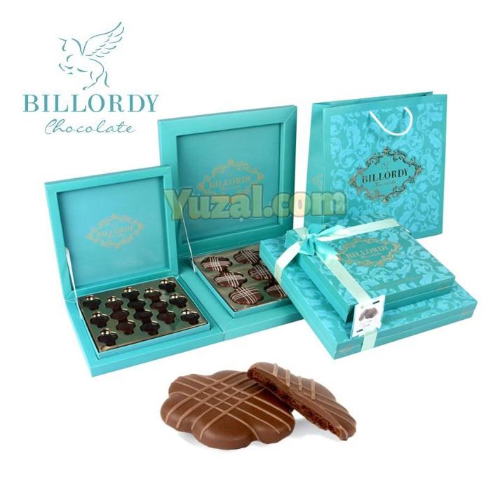 بیسکویت شکلاتی کادویی بیلوردی T2