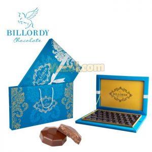 شکلات کادویی دارک مغزدار با طعم فندق بیلوردی x-600