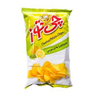 چیپس لیمویی ۶۰ گرمی چی توز