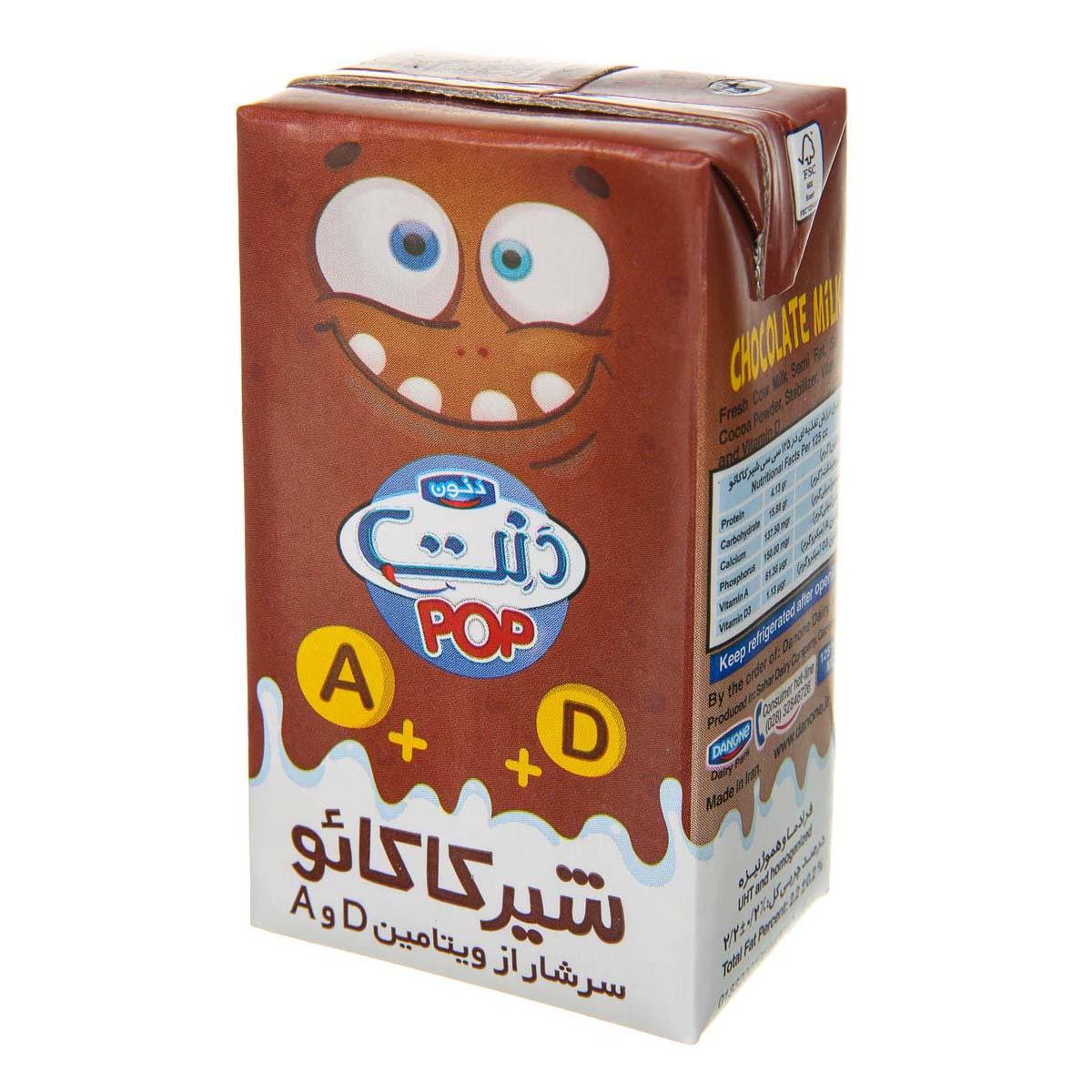 شیر کاکائو ۱۲۵ میلیلیتری دنت