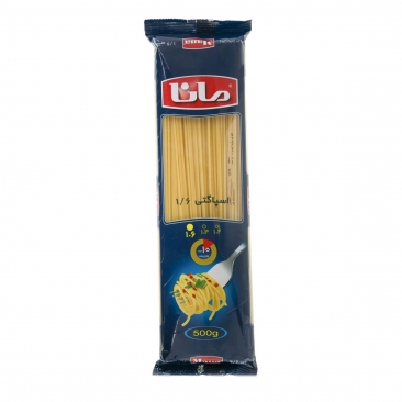اسپاگتی ۱.۶ مانا مقدار ۵۰۰ گرم